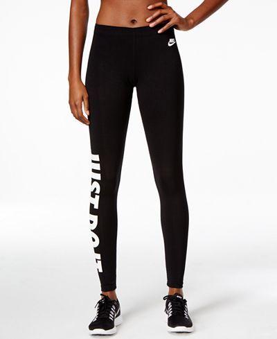 12bc76f96a3ca Nike Just Do It Dri-FIT Leggings - Pants - Women - Macy's | My style ...