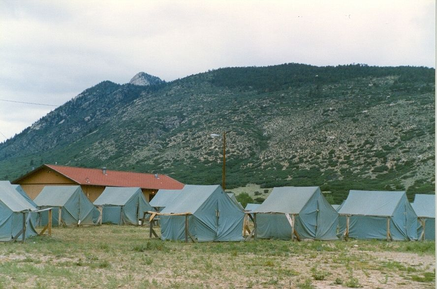 Tent City & Tent City | scouting - Philmont | Pinterest | Tents and City