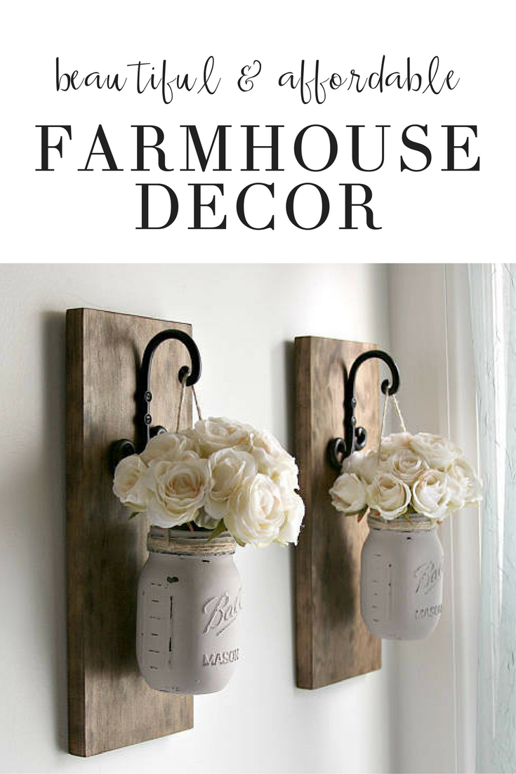 Photo of Farmhouse Home Decor Ideas | Easy and Affordable Decor Inspiration