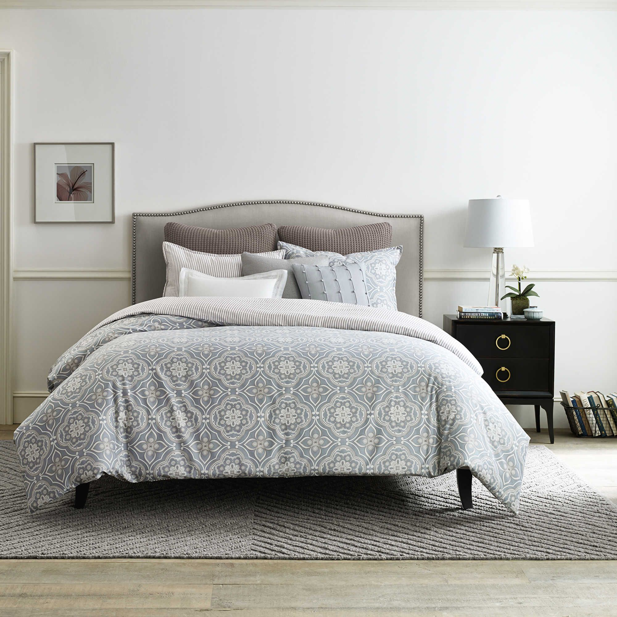 Bed Bath And Beyond Real Simple Anya Reversible Duvet Cover In