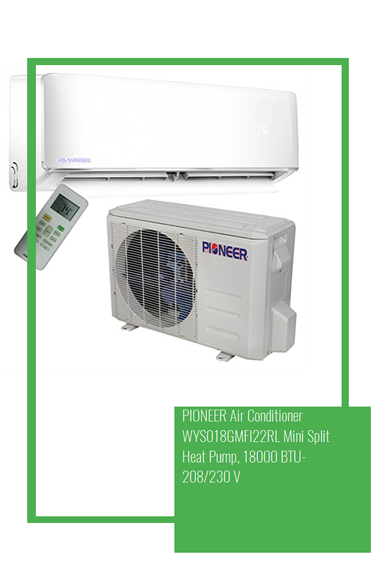 PIONEER Air Conditioner WYS018GMFI22RL Mini Split Heat