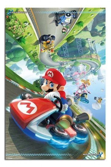 Mario Kart 8 Flip Poster Super Mario Kart Mario Kart Nintendo Mario Kart