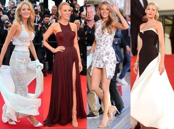 Can we just talk about Blake Lively at the Cannes Film Festival?  Absolute perfection.