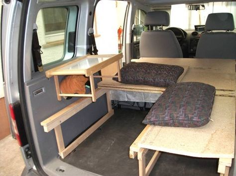 vw caddy camping ausbau my outdoor stories bauen t. Black Bedroom Furniture Sets. Home Design Ideas