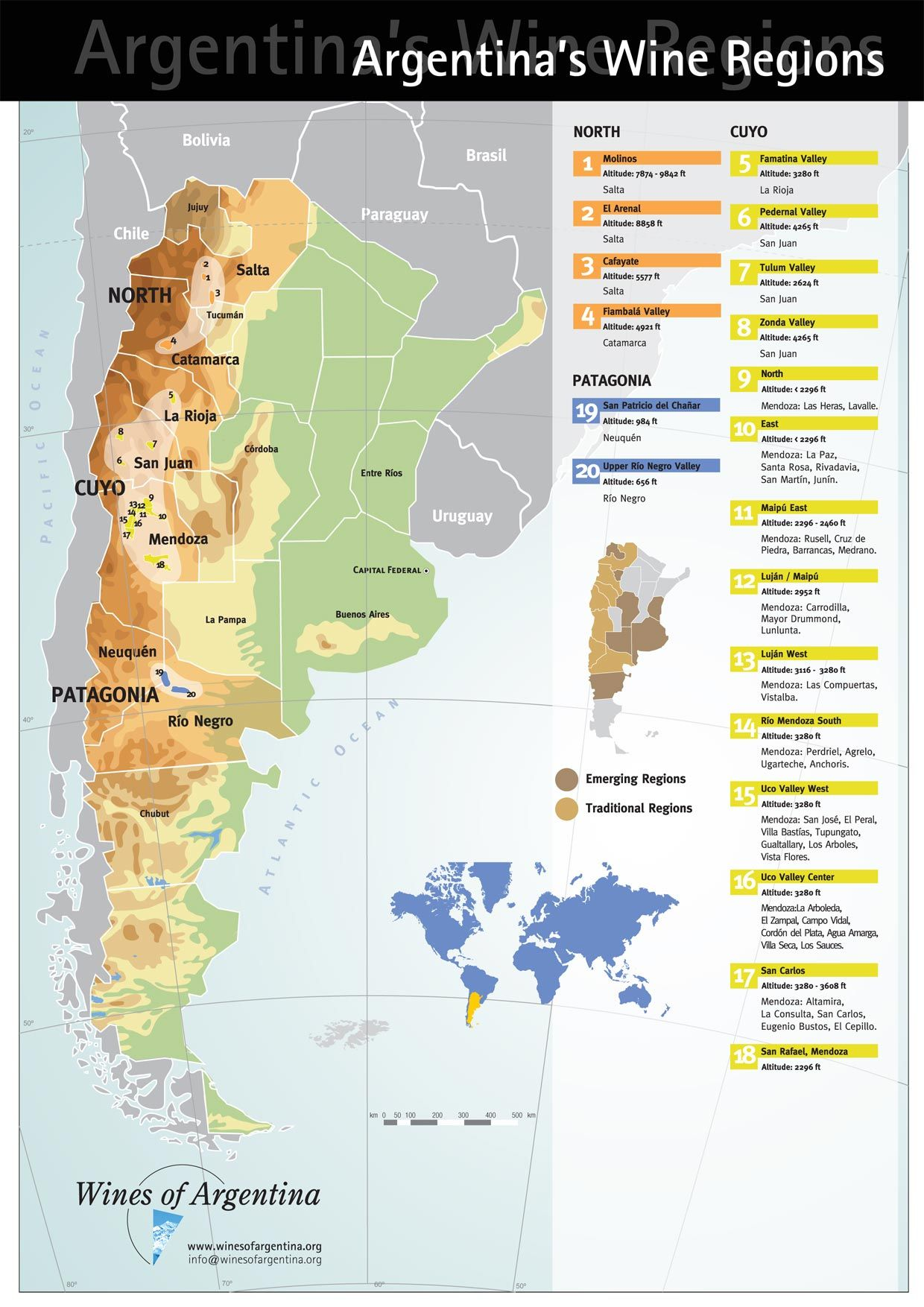 Map Of Argentina Wine Regions France Map - Map 0f argentina