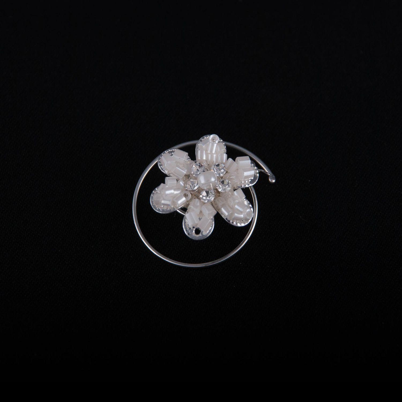 10er Set Haarcurlies von Achberger Dekorative Perlenblüten zum ...