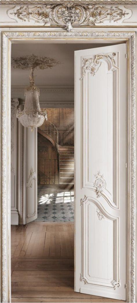 pin french photo doors country design interior door pinterest