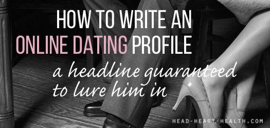 Hoe maak je een goede dating Headline