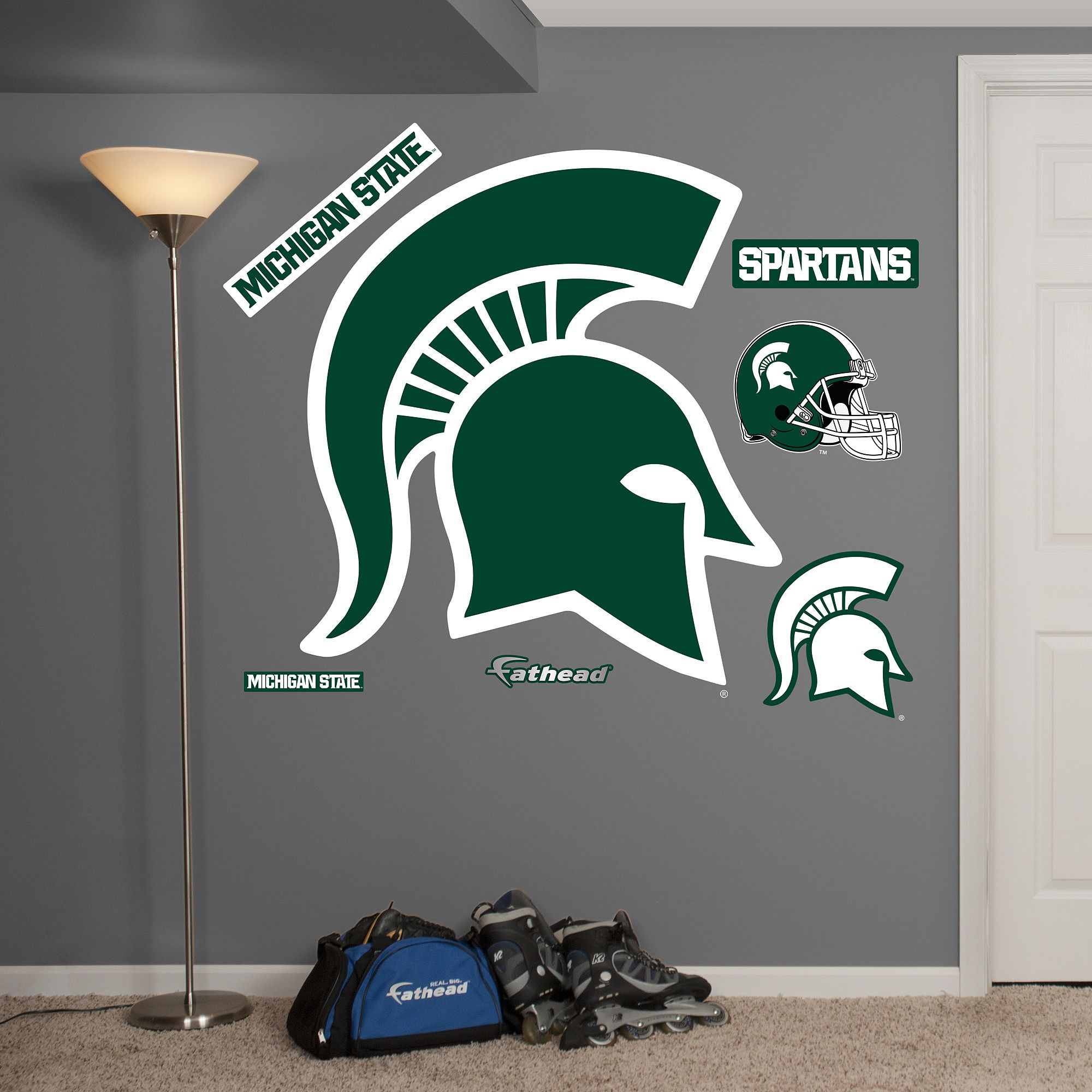 Fathead Michigan State Logo Wall Decals