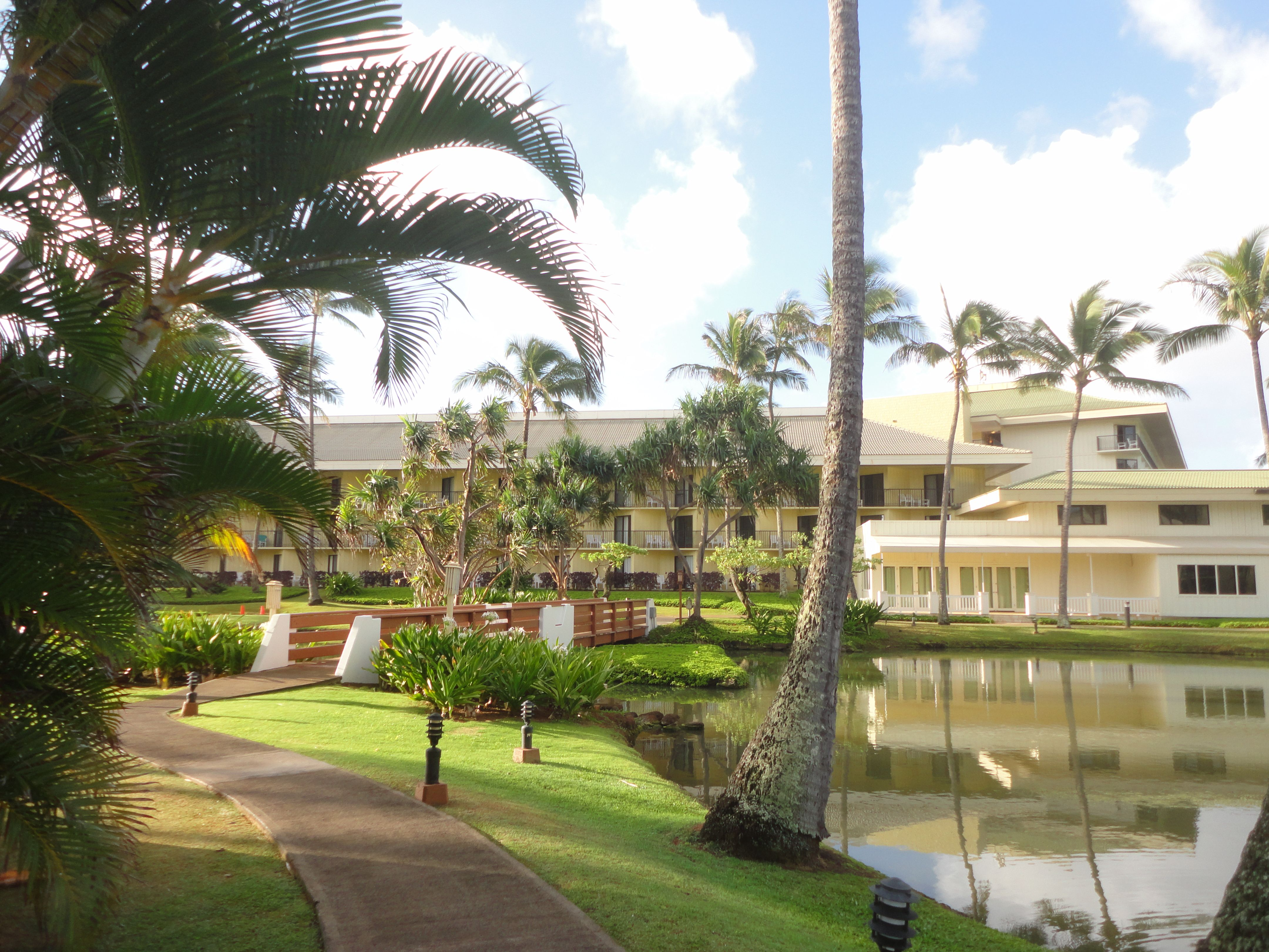 And the hotel at Kauai Beach Resort will soon be buzzing with tourists...