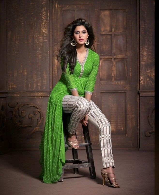 Ravishing Parrot Green Suit, designer salwar suit shopping ...