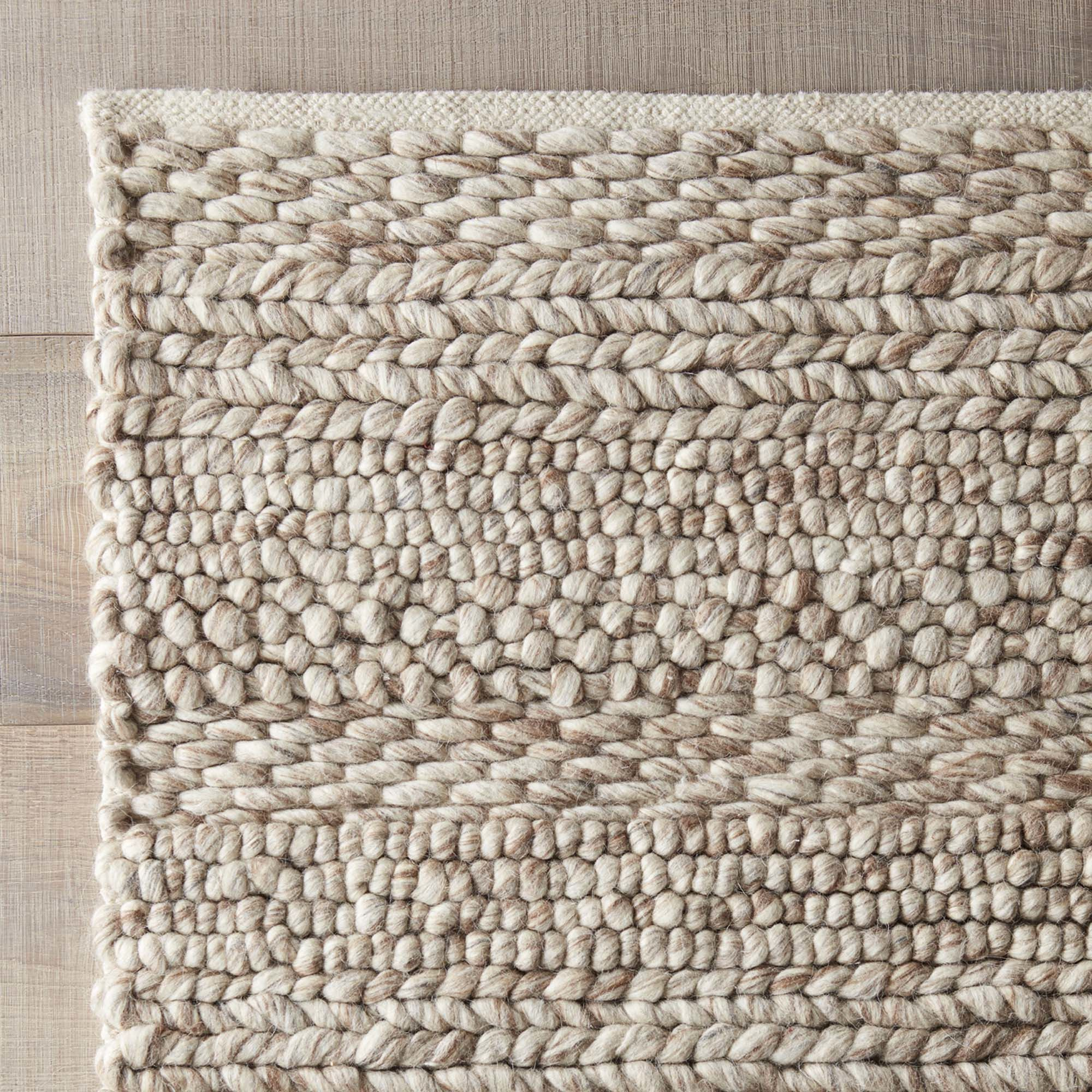DwellStudio Florian Hand Woven Natural Area Rug