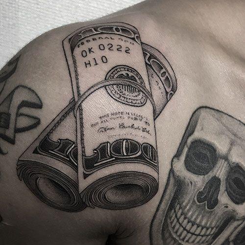 101 Best Money Tattoos For Men: Cool Designs + Ideas (2019 ...