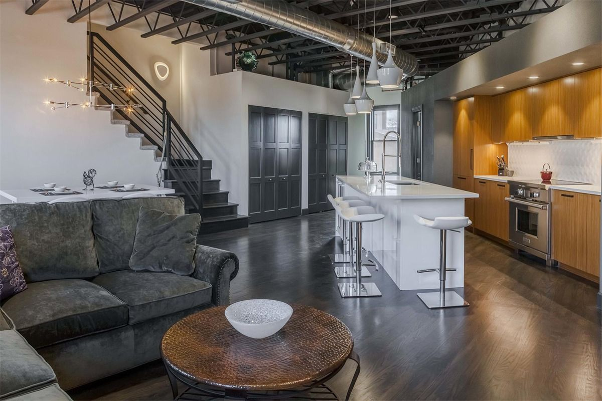 extraordinary property of the day contemporary loft in the heart of