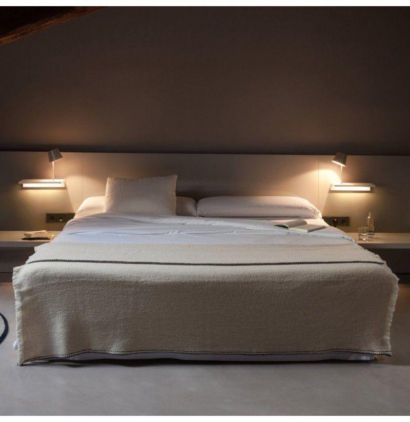 Aplique Suite Aplique Con Luz De Lectura De Vibia Insmat Iluminacion Diseno Interior De Dormitorio Apliques Pared Dormitorio Luces De Lectura