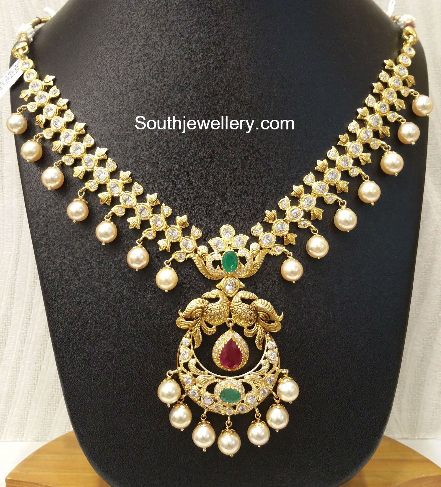 Indian Gold Jewellery Necklace Sets Google Search: Addicted To Jewelry