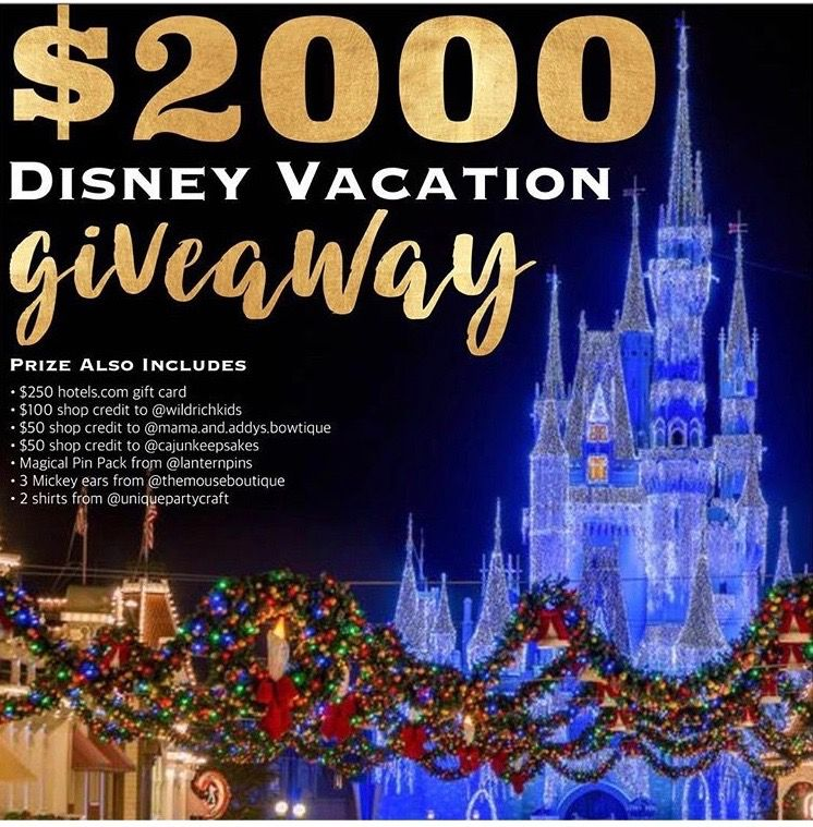 Win Disney Gift Cards 2018 | Current Disney Sweepstakes and