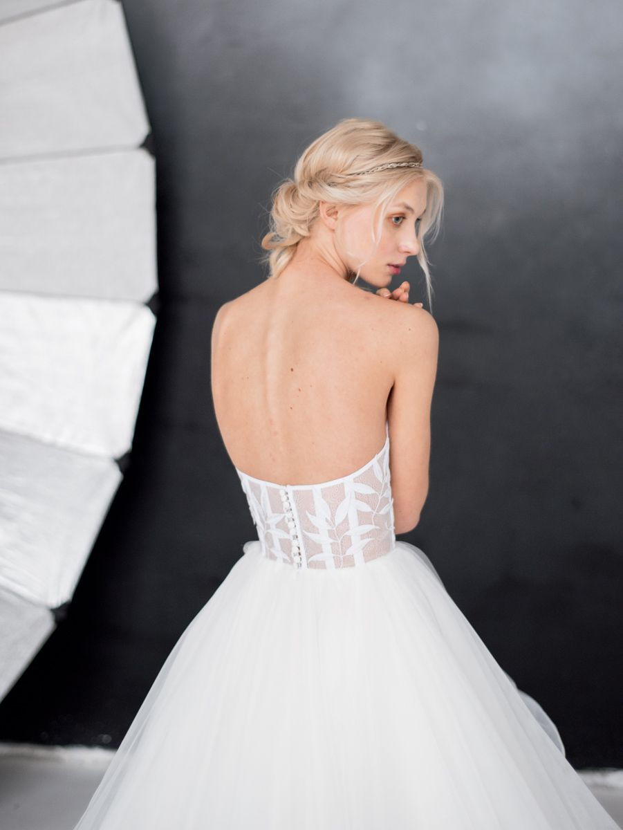 Ethereal wedding dress  Dramatic ethereal wedding gown Mila by Milamira Bridal  couture