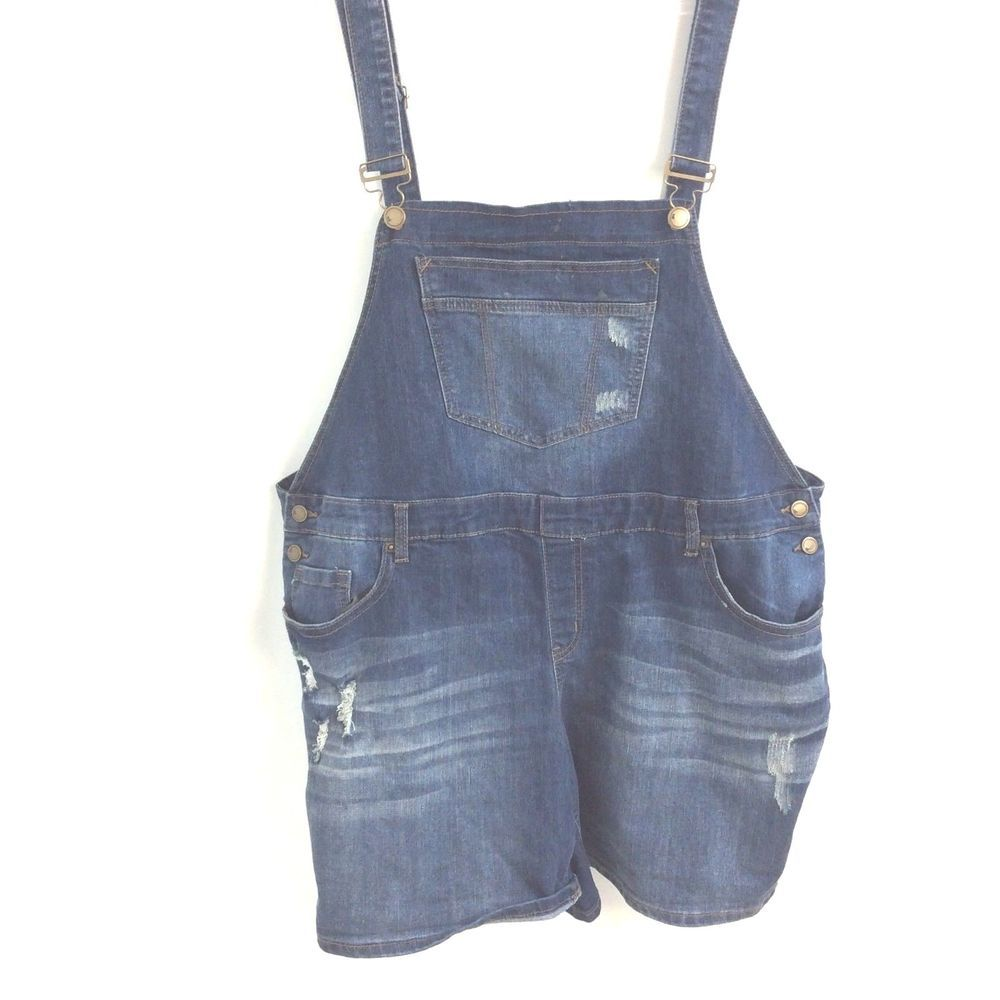 a18eb233d23 Lane Bryant Size 22 New Short Overalls