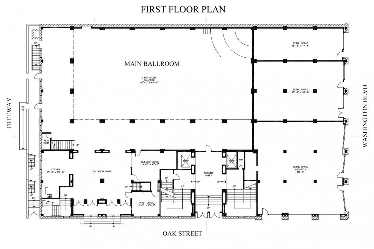 Barn Wedding Venue Floor Plan Business plan template