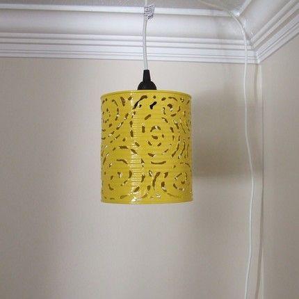 Tin Can Pendant Light Diy Pendant Light Tin Can Lights Diy Hanging Light