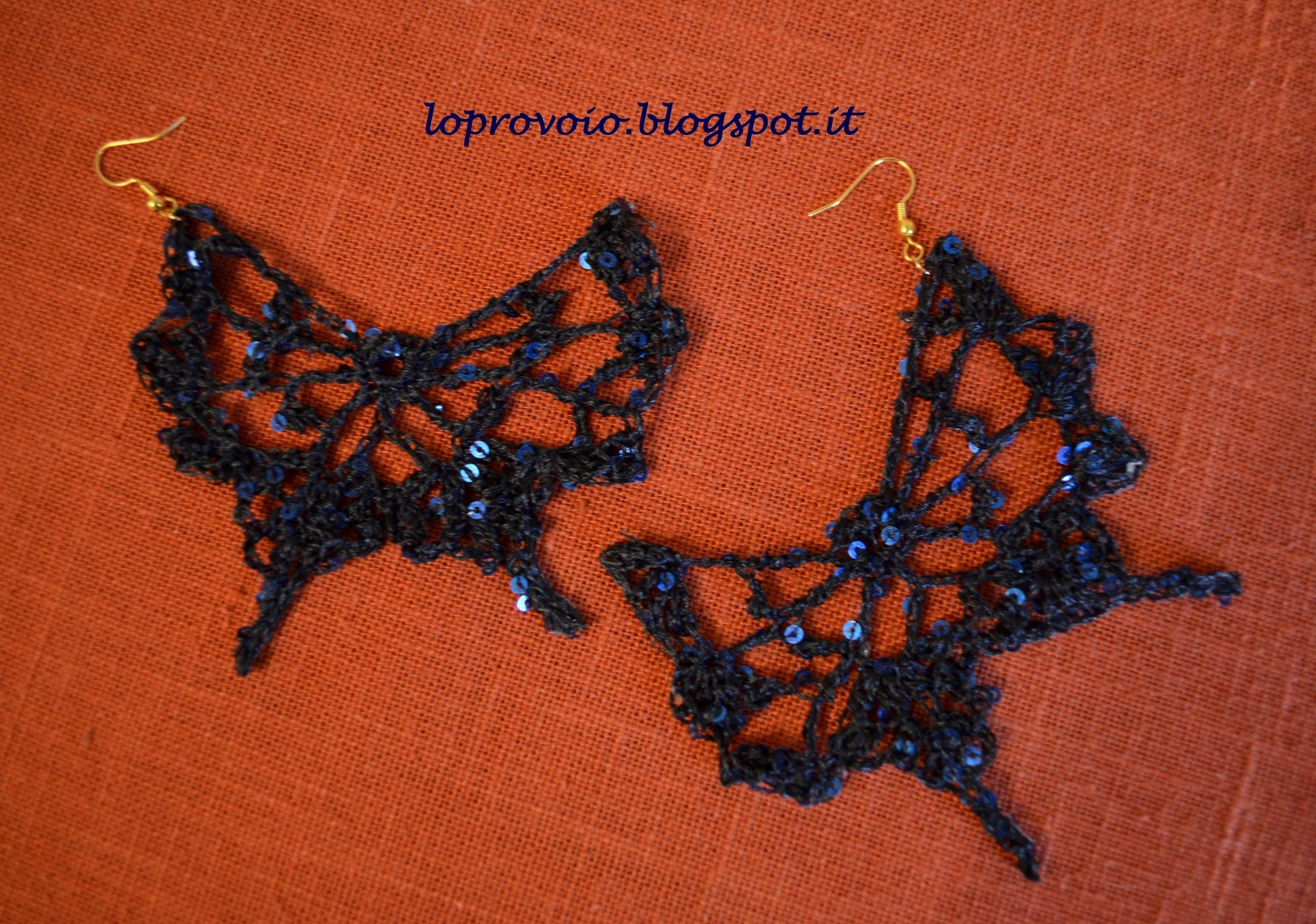 Pin By Ann Grant On Jewerly Crochet Uncinetto Farfalle Orecchini