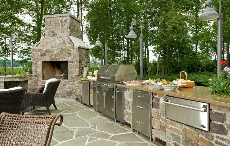 Gourmet Outdoor Kitchen Appliances Outdoor Kitchen Lake Street Enchanting How To Design An Outdoor Kitchen Design Ideas