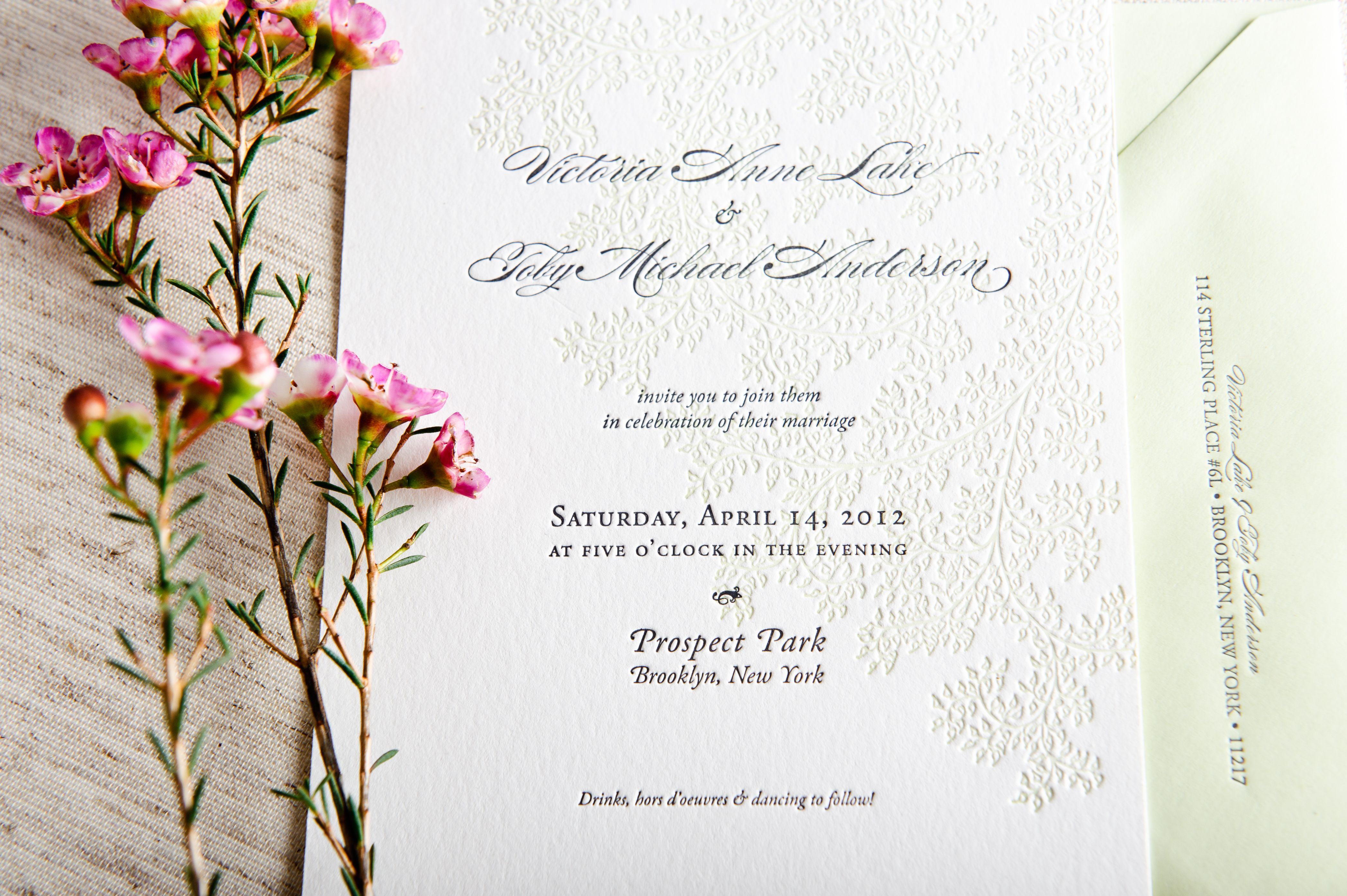 Wedding Invitation Designers Campbell Raw Press
