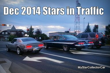 December 2014 MSCC Stars in Traffic-24 classic rides in today's traffic. Click here: MSCC December 2014 Stars in Traffic-24 old rides in traffic. Click here: http://www.mystarcollectorcar.com/3-the-stars/stars-in-traffic/2511-december-2014-stars-in-traffic-a-year-end-look-at-what-was-out-there.html