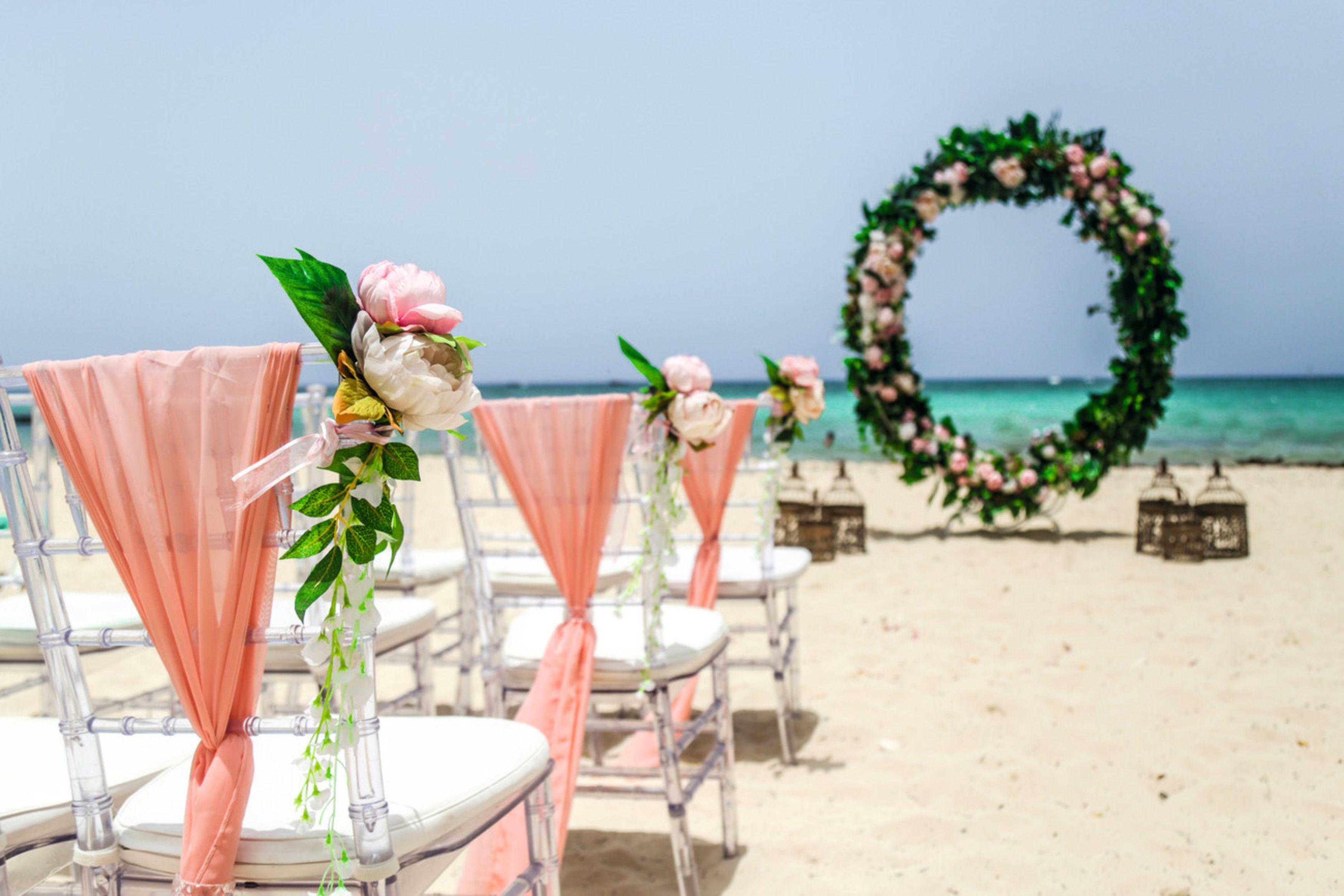 Riu Palace Punta Cana Beach Wedding Punta Cana Beach Beach Wedding Wedding Package