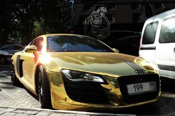 The gold car audi r8 automobiles pinterest cars car prices the gold car audi r8 fandeluxe Image collections