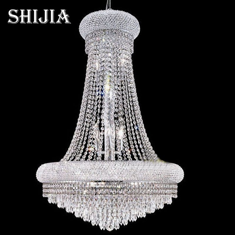 D100cm Modern Led Spiral Lustre Large Crystal Chandelier Light Fixtures Long Sta In 2020 Crystal Chandelier Modern Living Room Lighting Crystal Chandelier Living Room