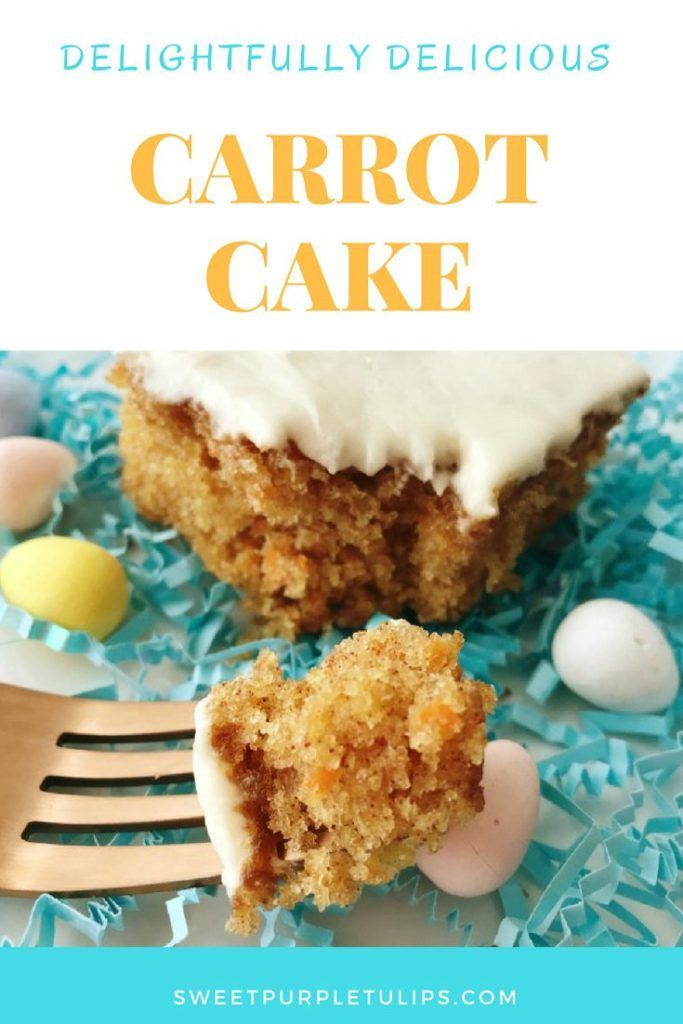 This carrot cake was always a favorite when we were growing up  It is moist and delicious and the frosting is just heavenly  I have tried carrot cakes from boxe...