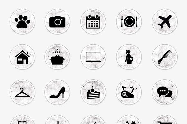 Marble Instagram Icons Instagram Icons Instagram Logo Instagram Story