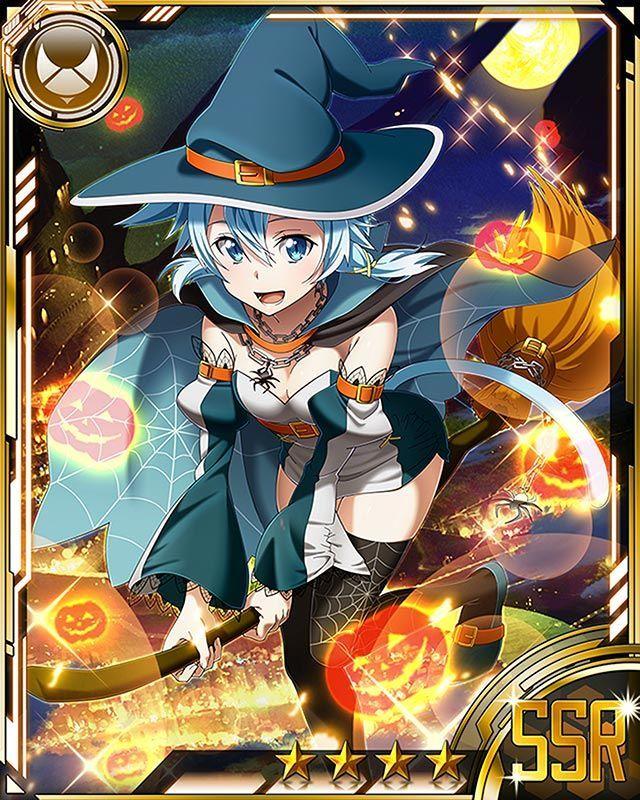 "«Shino Asada/Sinon Heaven» — animecardx:   Sword Art Online: Shino ""Sinon""..."
