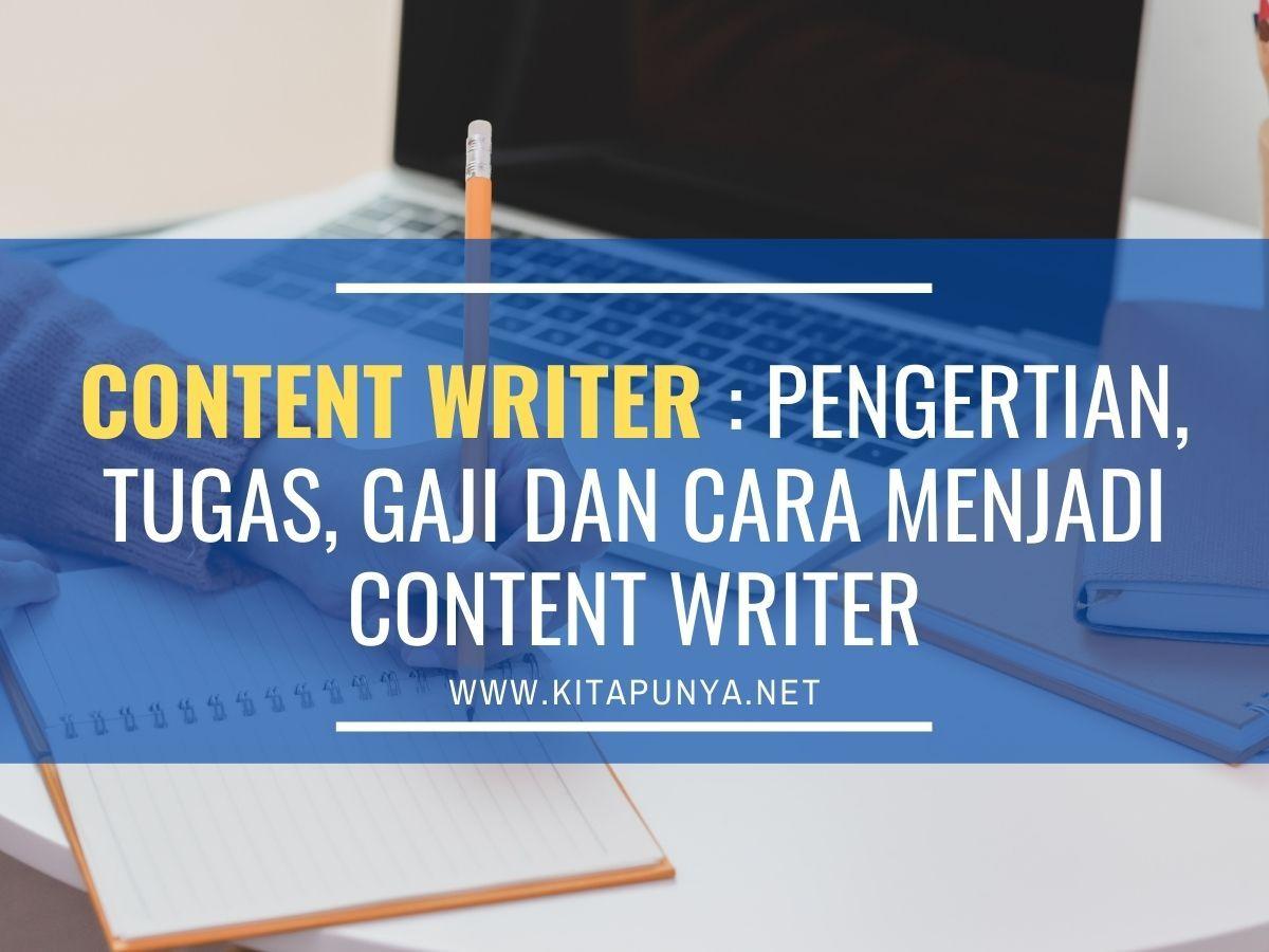 Content Writer Menjadi Penulis Portofolio Hobi
