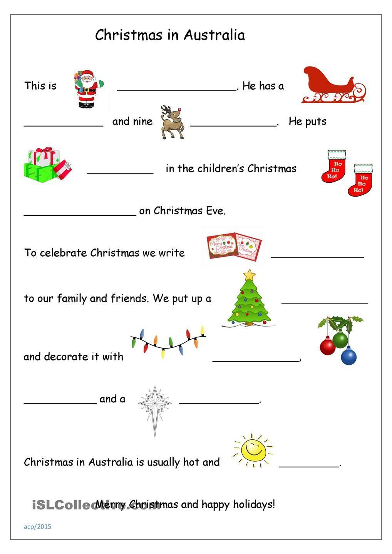 Workbooks worksheets australia : Christmas in Australia | Christmas classroom activities ...