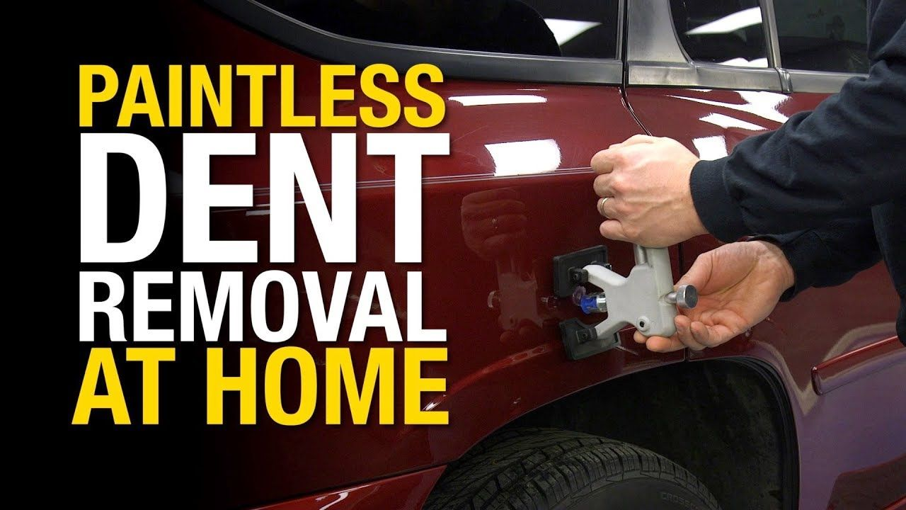How to Remove Dents from a Car Without Damaging the Paint