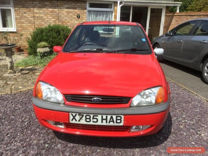 Car For Sale Ford Fiesta Zetec 1 6v