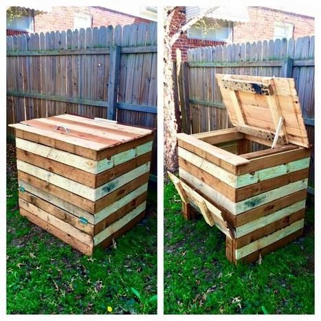 Compost Bin Made From Recycled Pallets | 1001 Pallets ideas ...