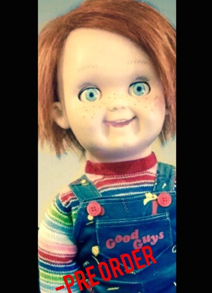 1 1 Lifesize Chucky Good Guy Doll   Pre-Order Halloween NO RESERVE ... 5c4150438