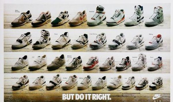 2fd8bc9da7a0 BUT DO IT RIGHT. 1990s Nike Shoe Advertisement  Vintick  Vintage  Nike