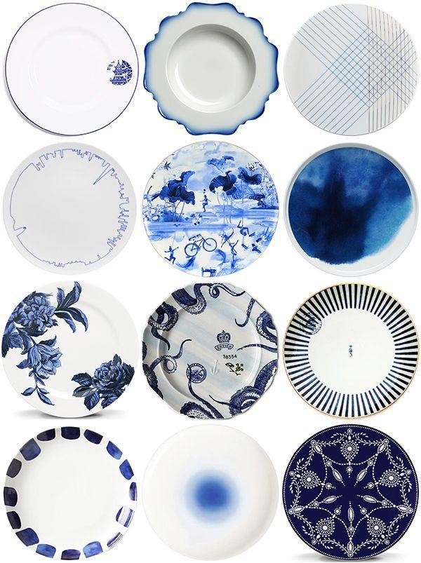 Modern Blue \u0026 White China   Snippet \u0026 Ink  sc 1 st  Pinterest & Modern Blue \u0026 White China   Snippet \u0026 Ink   Tablescapes ...