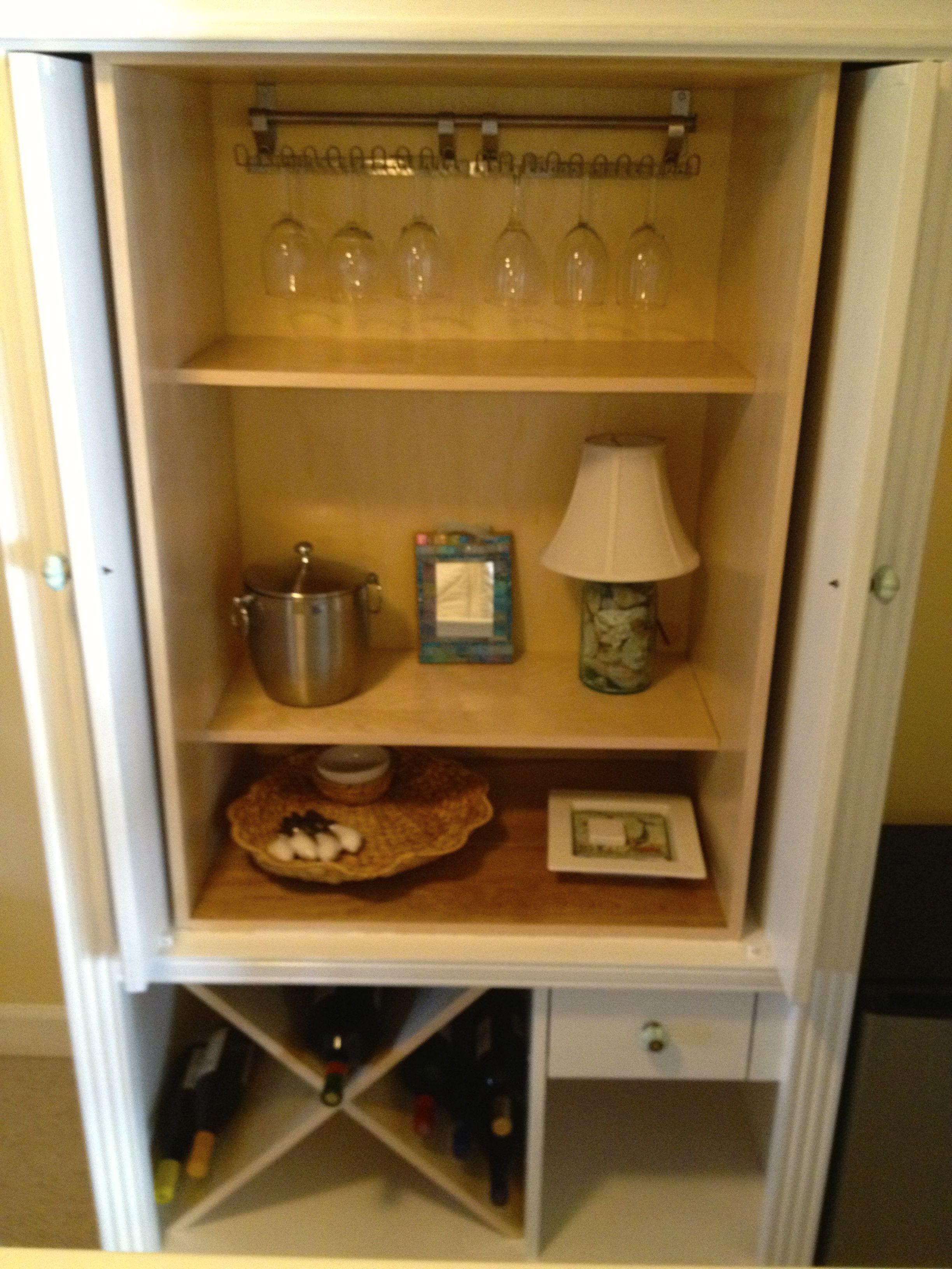 TV Armoire wine cabinet