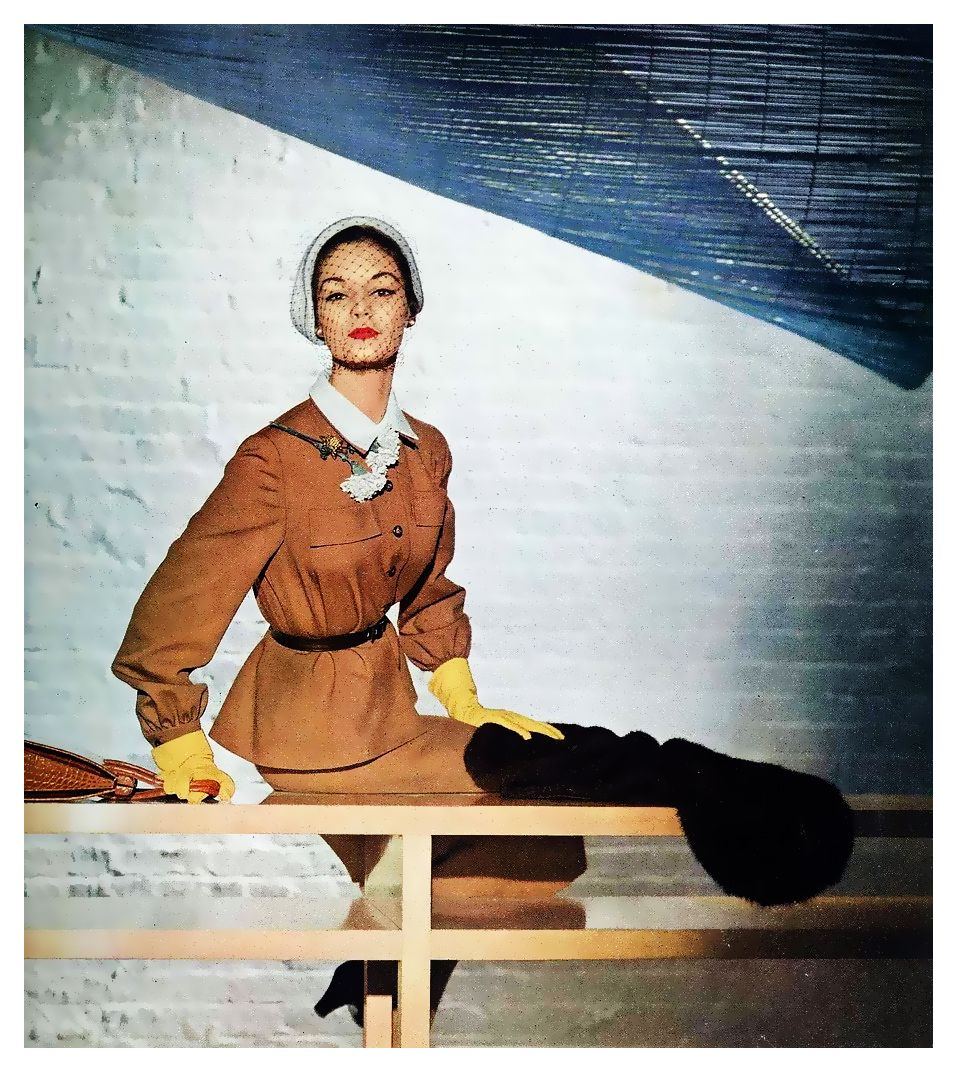 Jean Patchett for Vogue 1950