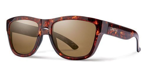 9ea97c6a2fe Smith Women s Clark Sunglasses Vintage Havana Polarized Brown Lens ...