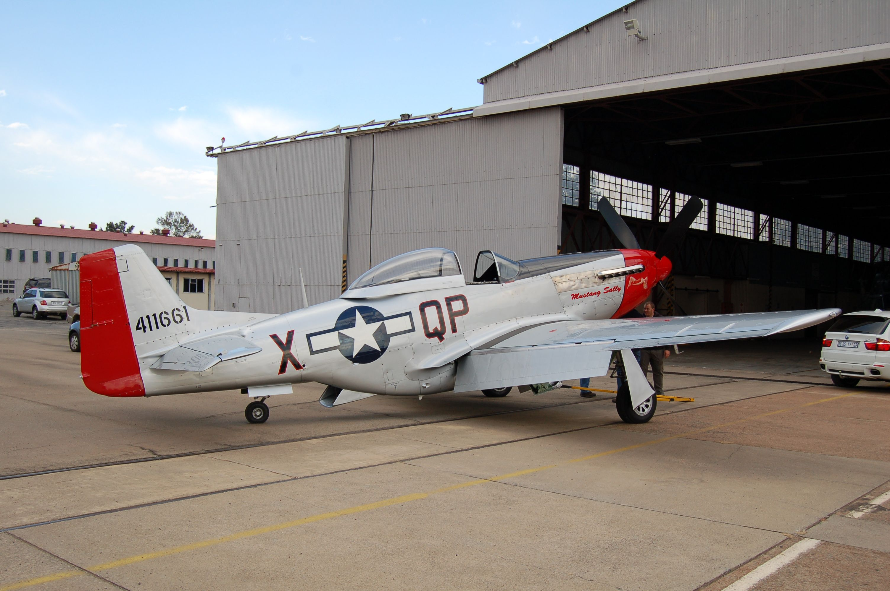 P51 MUSTANG Aviação