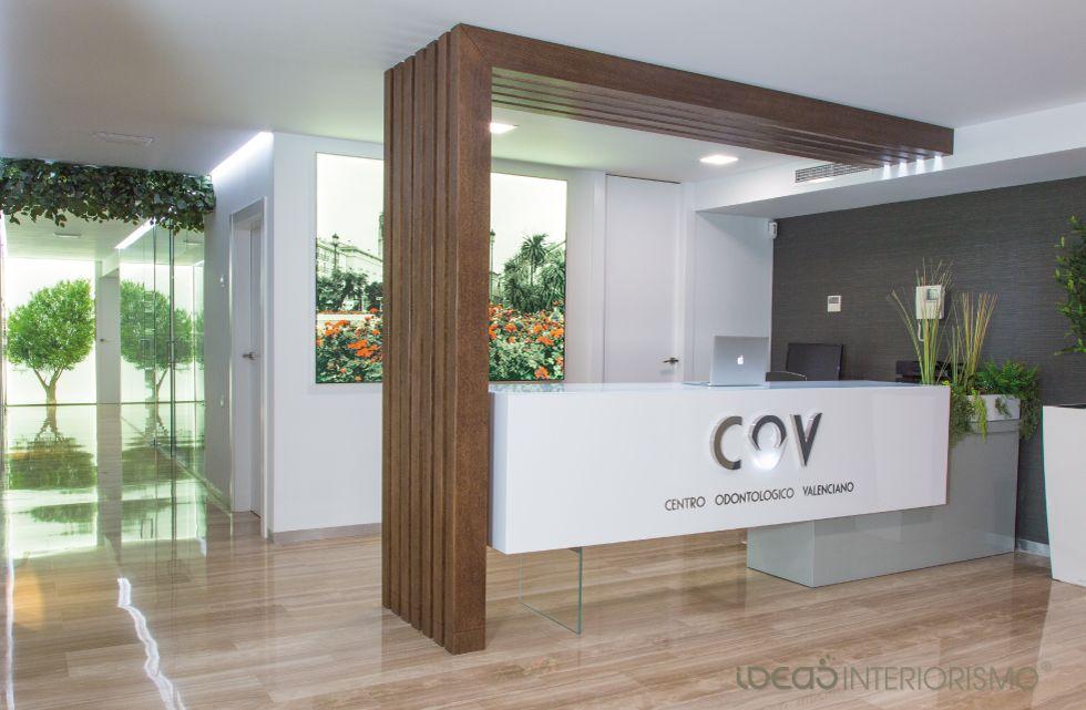 Centro Odontológico Valenciano Diseñado Por El Estudio De Ideas Interiorismo®  En Valencia. Clinica