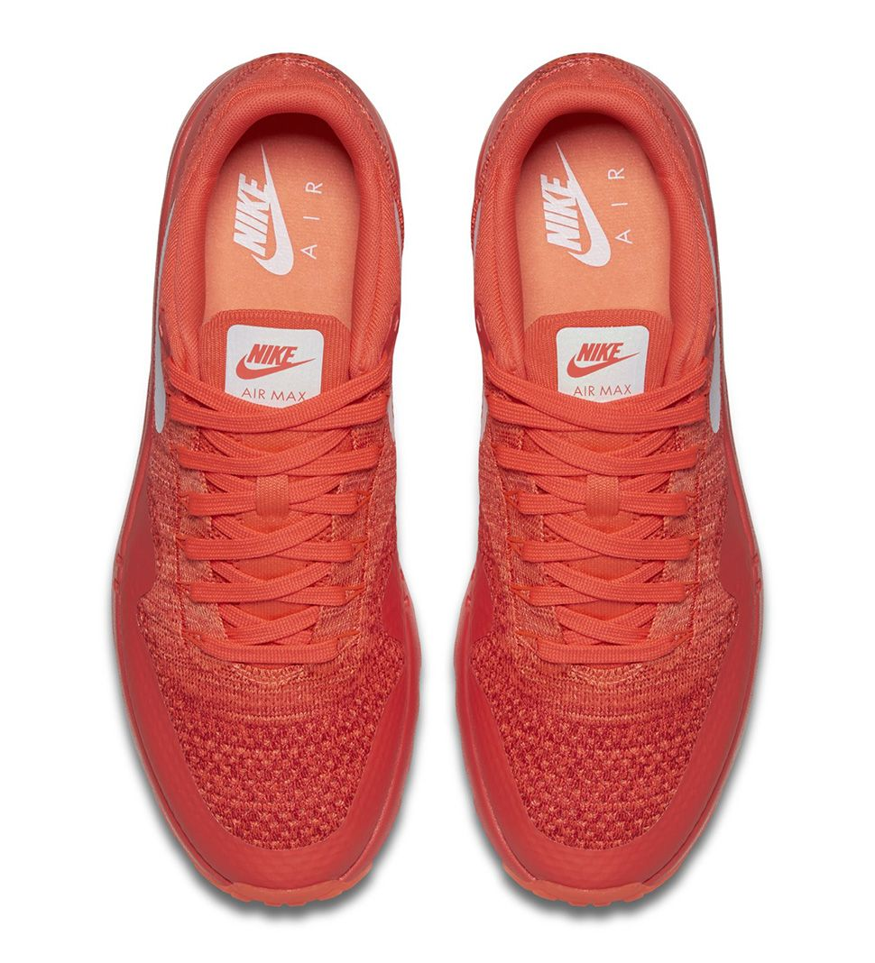 "Preview: Nike Air Max 1 Ultra Flyknit ""Bright Crimson"" - EU Kicks: Sneaker Magazine"