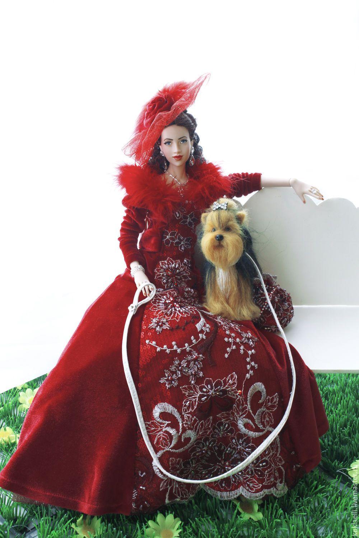 Дама с собачкой | Барби, Куклы, Пупс